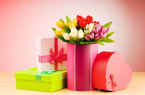 Un bouquet de fleurs original pour célébrer un anniversaire