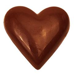 Coeur chocolaté