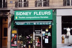 SIDNEY FLEURS
