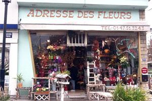ADRESSE DES FLEURS