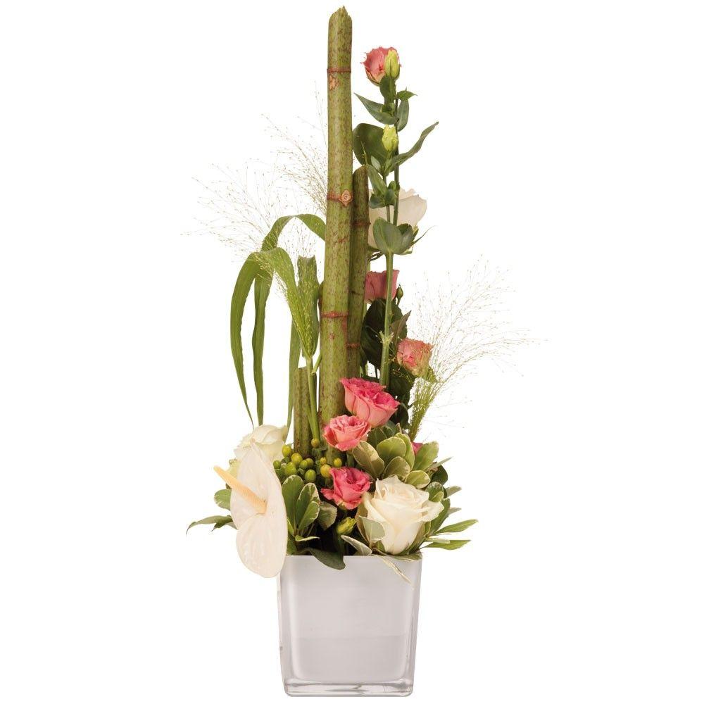 livraison composition fleurs en hauteur palace florajet. Black Bedroom Furniture Sets. Home Design Ideas