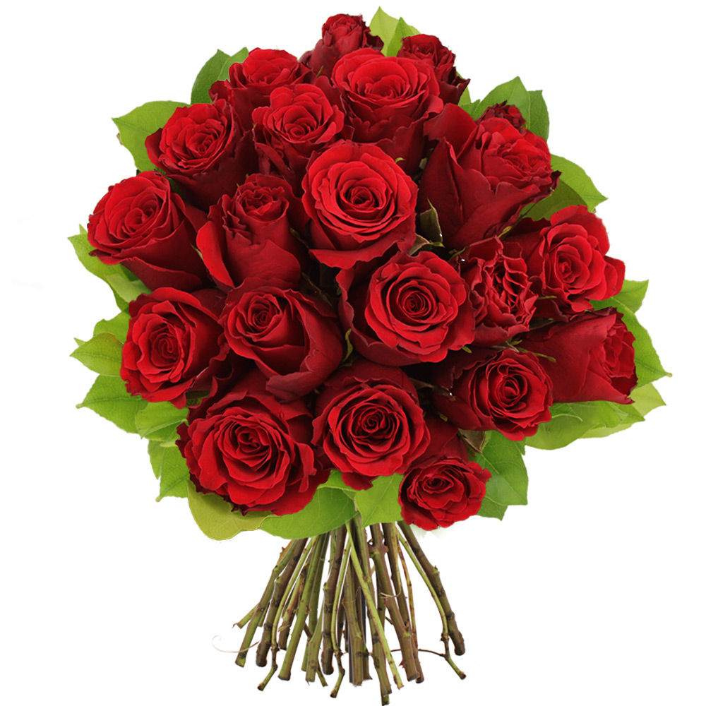 Bouquet de 20 roses rouges livraison en express florajet for Bouquet de rose