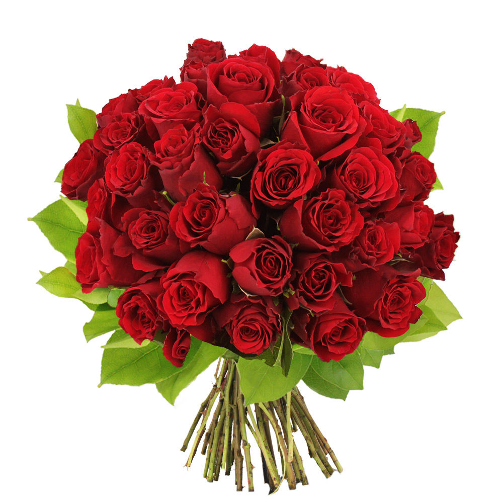 Bouquet de 40 roses rouges livraison en express florajet for Bouquet de rose