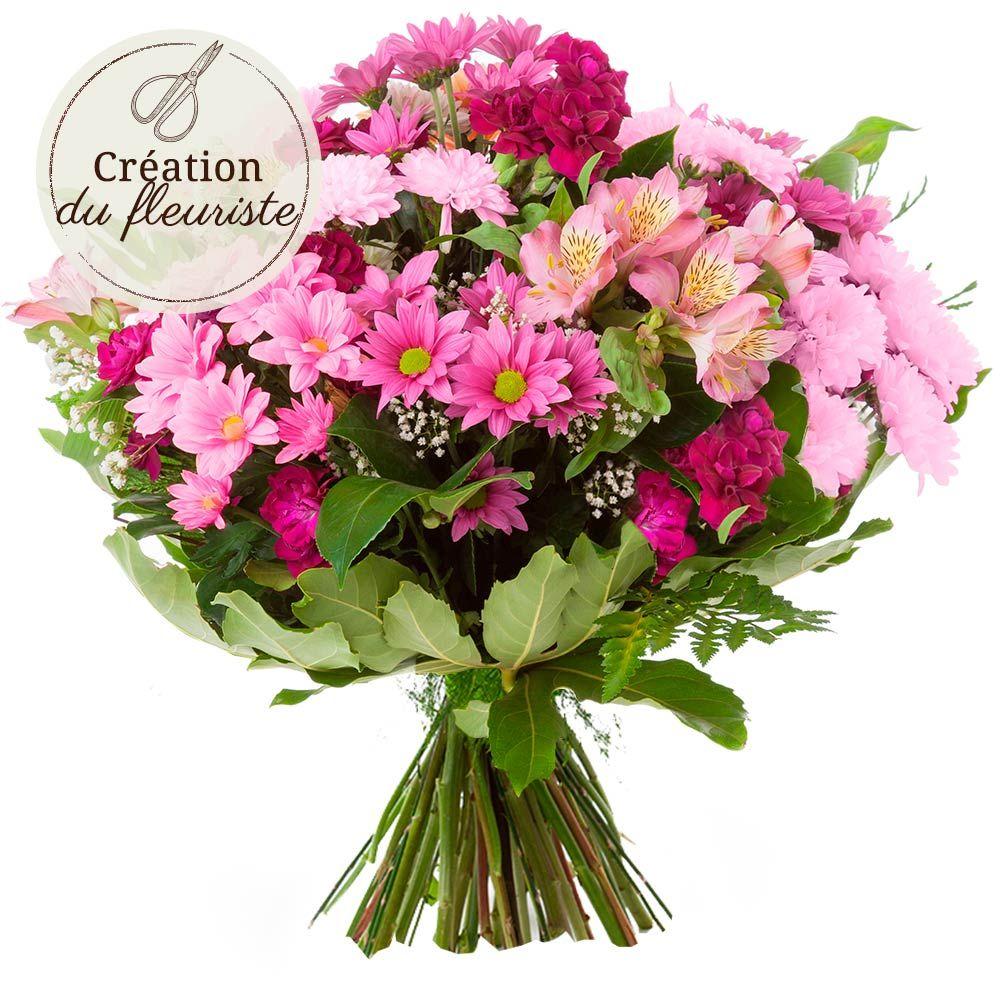 Cr ation florale rose livraison en express florajet for Rose livraison