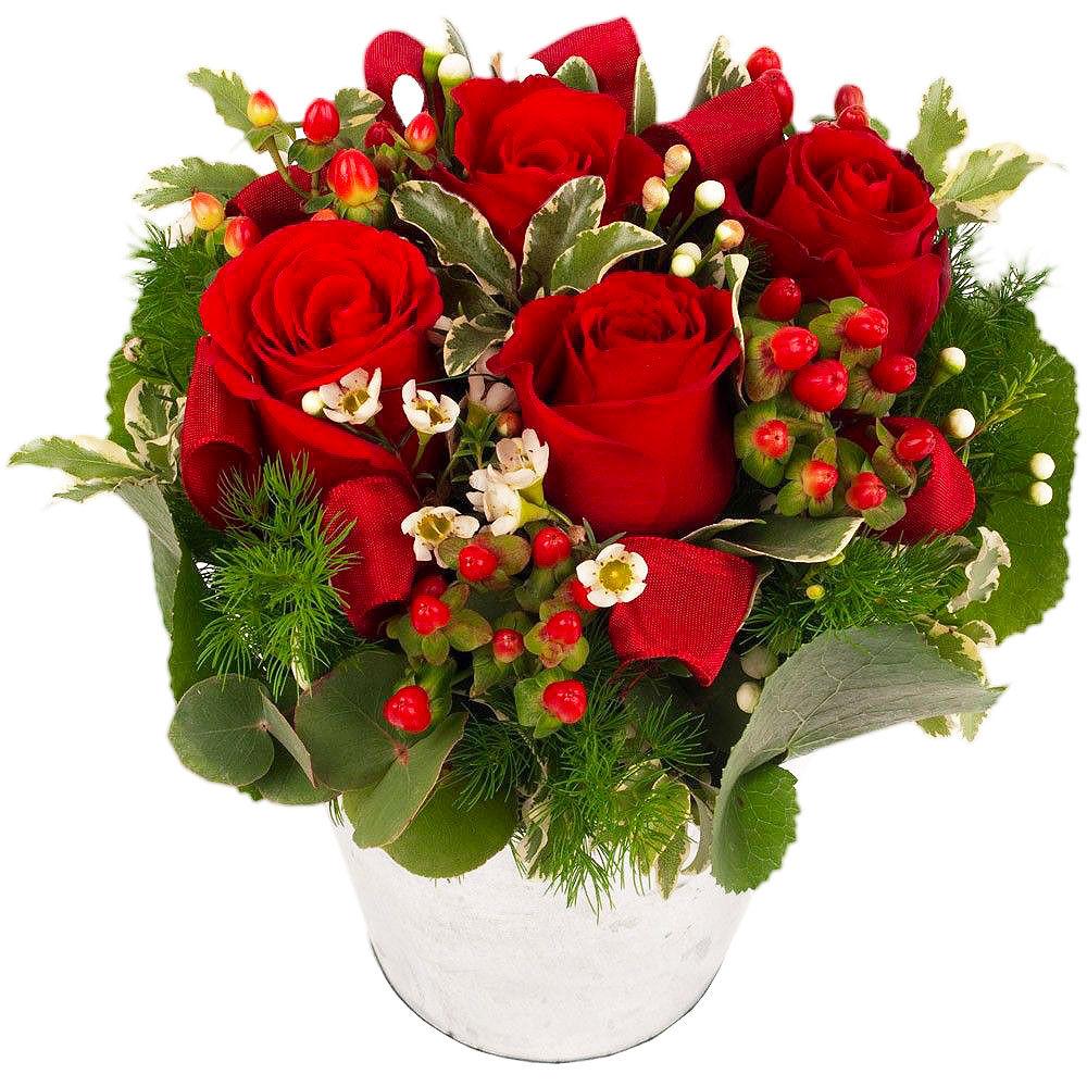 Livraison composition de roses rouges aphrodite florajet for Bouquet fleuriste