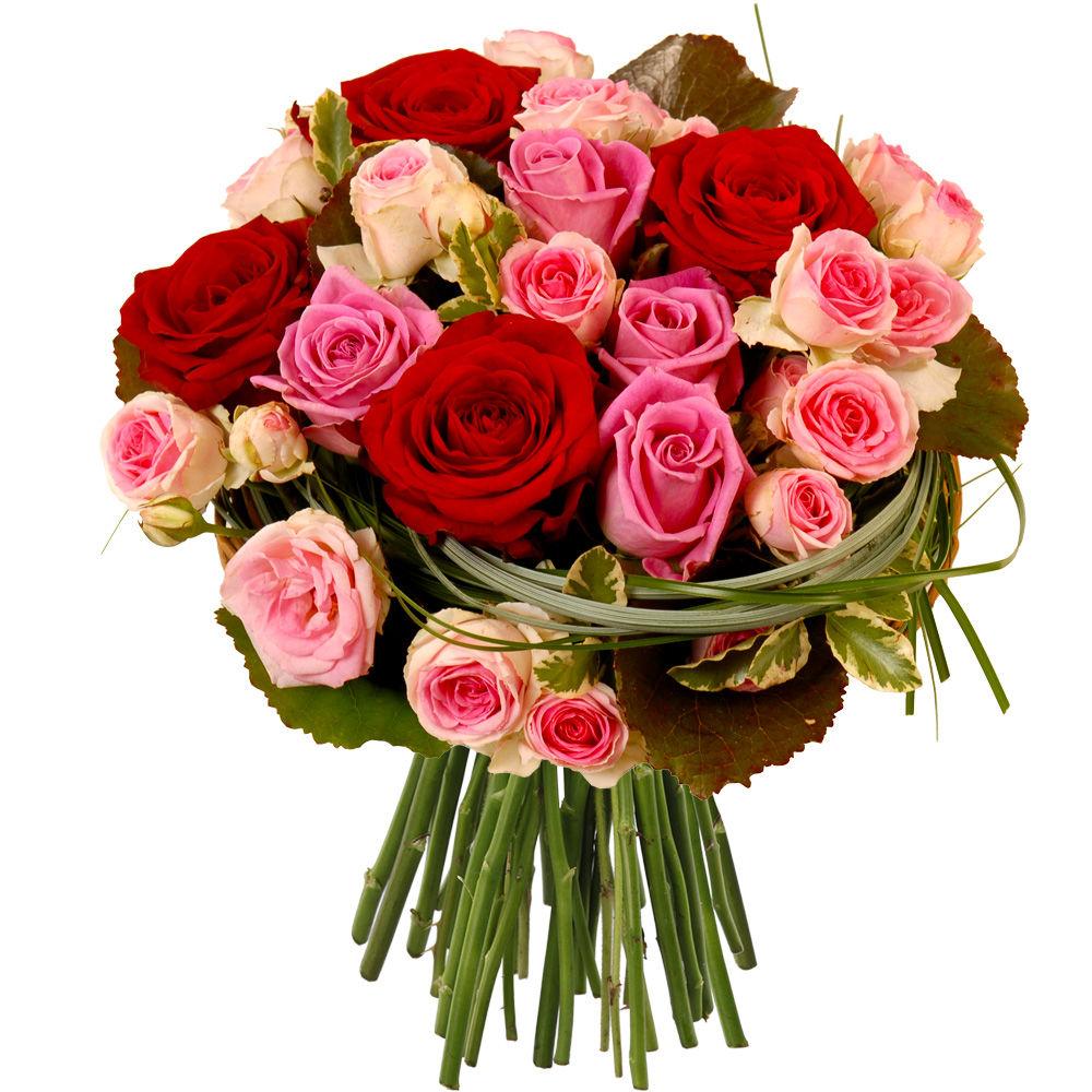 roses rouges et roses rose livraison express florajet. Black Bedroom Furniture Sets. Home Design Ideas
