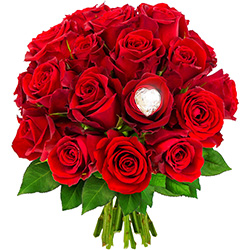 20 ROSES + CRISTAL