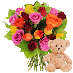 20 ROSES + OURSON