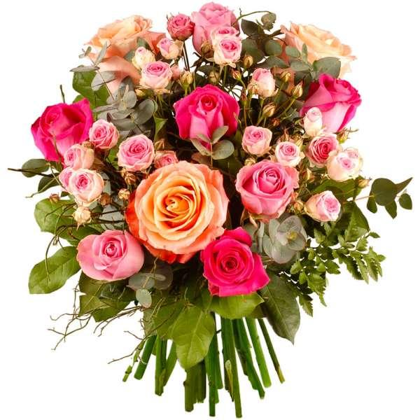 Bouquet de roses MECENE