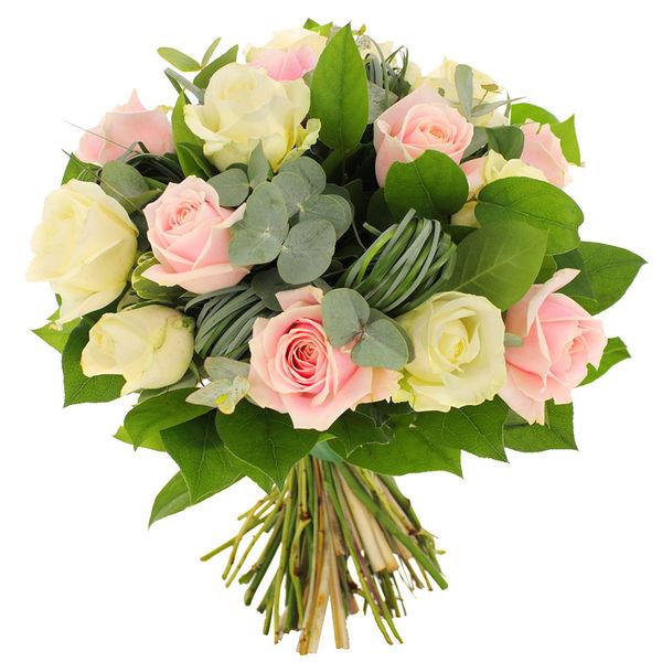 Bouquet de roses BADINAGE