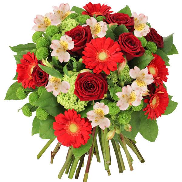 Bouquet rond LUTINE