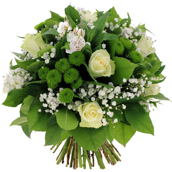 Bouquet rond MONARQUE