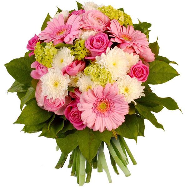 Bouquet rond SOIERIE