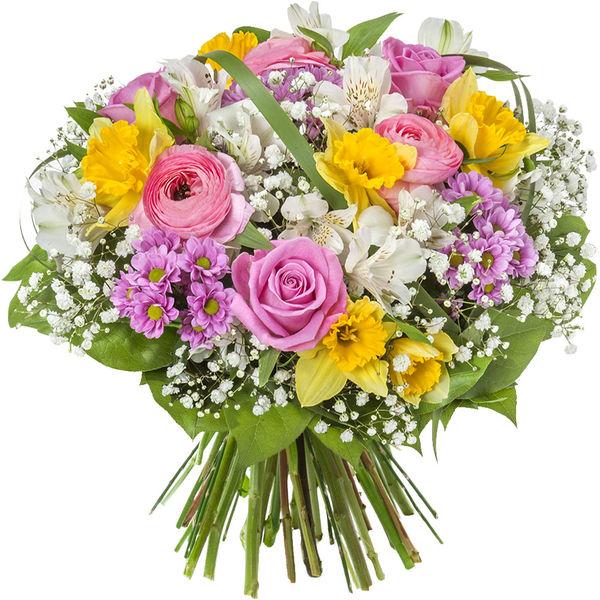 Bouquet rond SOURIRE