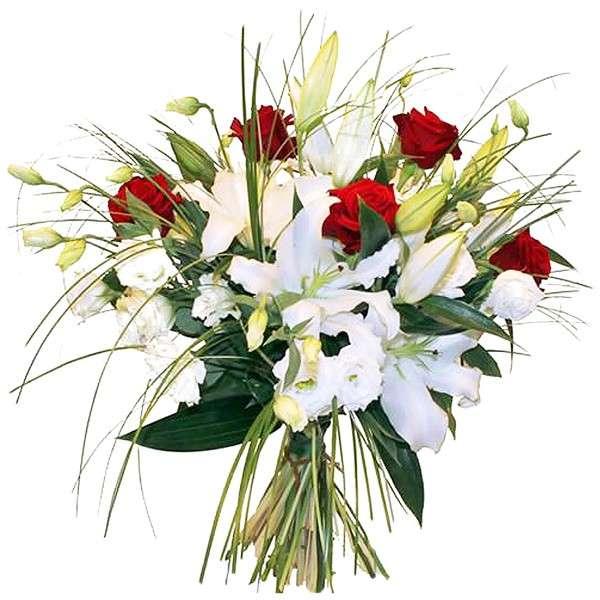 Bouquet rond DIVINITE