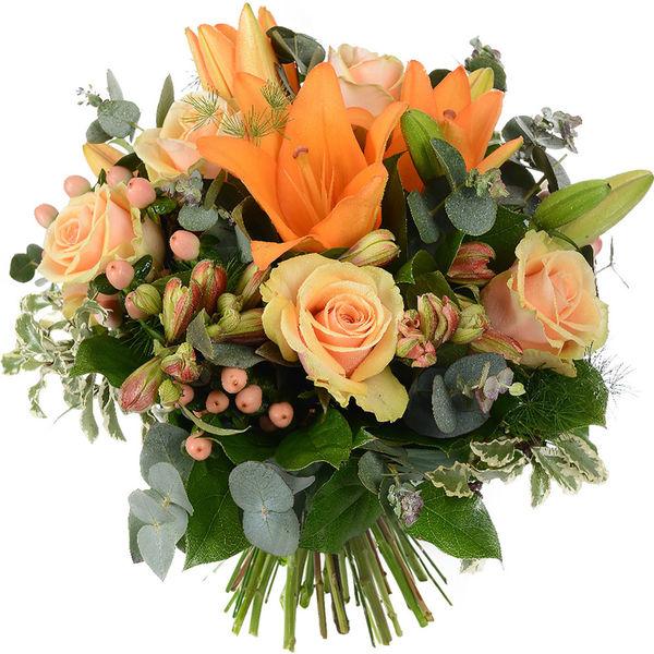 Bouquet rond AMBRE