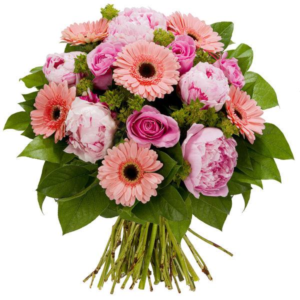 Bouquet rond CAILLEBOTTE