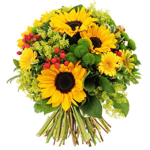 Bouquet rond DELACROIX