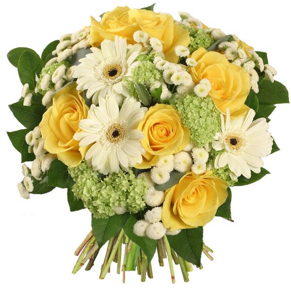 Bouquet rond CEZANNE