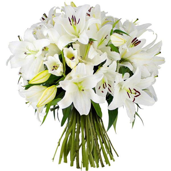 Bouquet rond CRISTAL