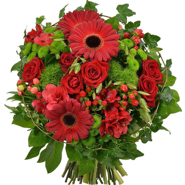 Bouquet rond FALL IN LOVE