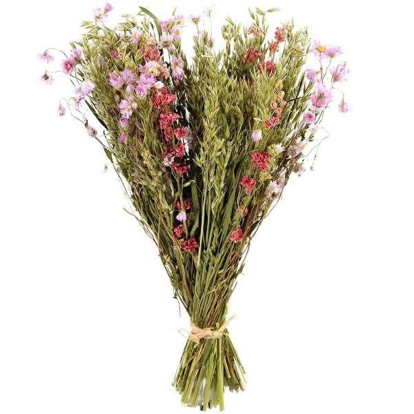 Bouquet rond BOUQUET DE FLEURS SECHEES ROSES
