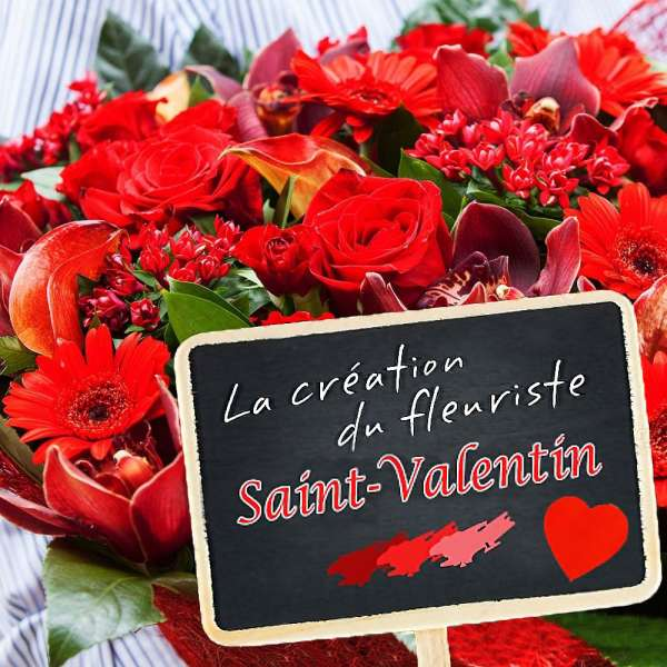 Autres CREATION DU FLEURISTE SAINT VALENTIN