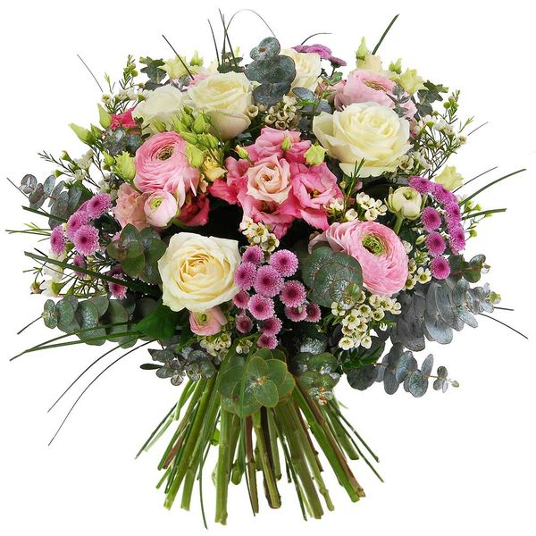 Bouquet rond ÉCRIN GOURMAND
