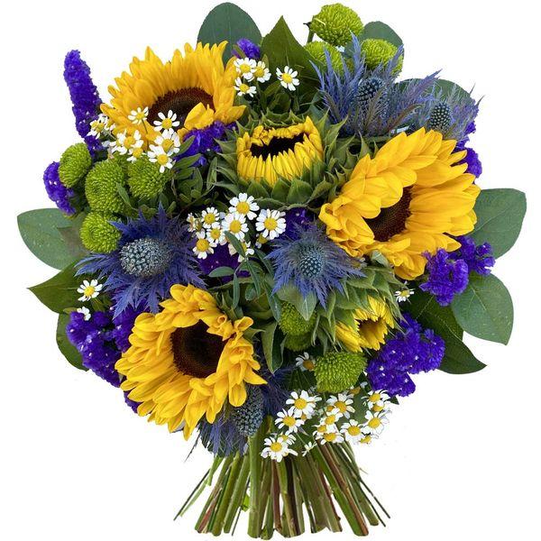 Bouquet rond SOUS LE SOLEIL