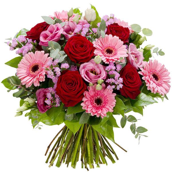 Bouquet rond ORNELLA