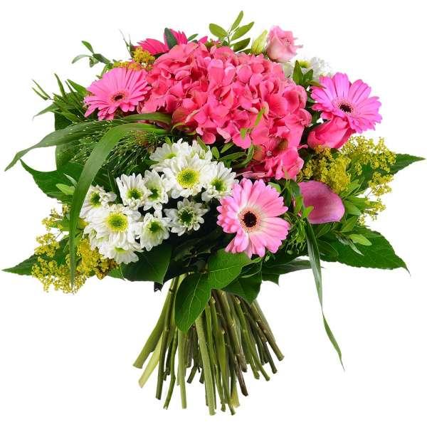 Bouquet rond GUIMAUVE