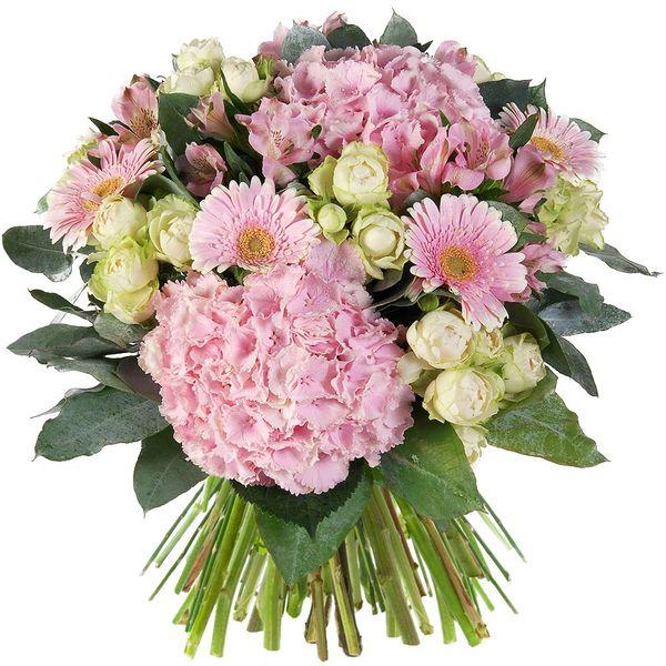 Bouquet rond PRALINE XL