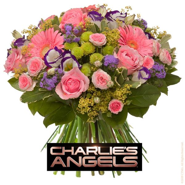 Bouquet rond CHARLIE S ANGELS
