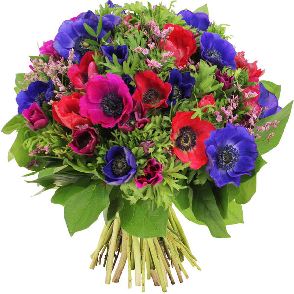Bouquet rond BOUQUET DE 40 ANEMONES