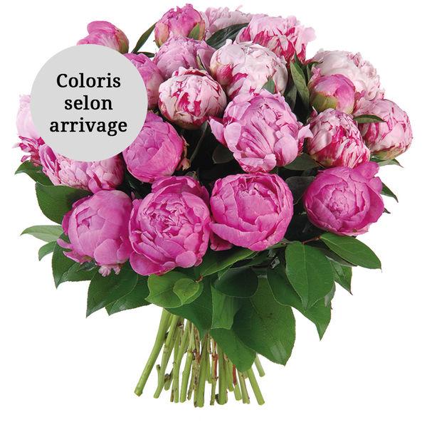 Bouquet rond BOUQUET DE PIVOINES