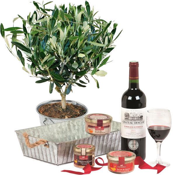 Cadeaux insolites OLIVIER + COFFRET APERITIF GOURMAND