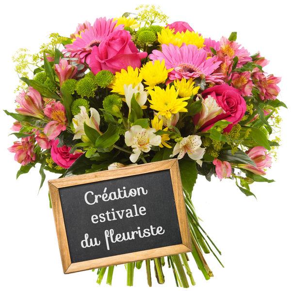 Bouquet rond CREATION ESTIVALE DU FLEURISTE