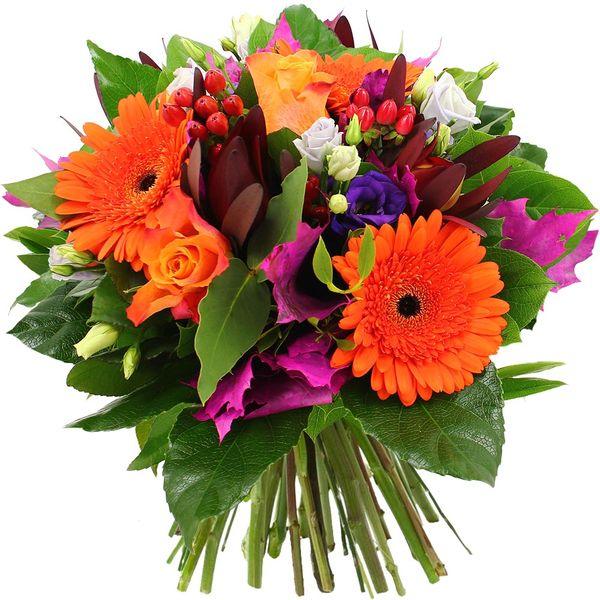 Bouquet rond PAPAYE