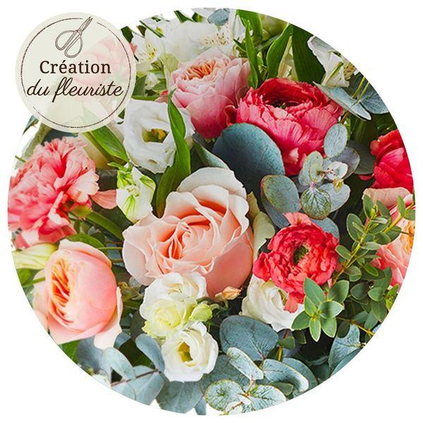 Bouquet rond CREATION DU FLEURISTE MARIAGE