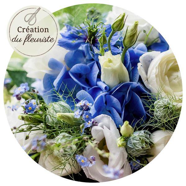 Bouquet rond BOUQUET DU FLEURISTE FETE DES PERES