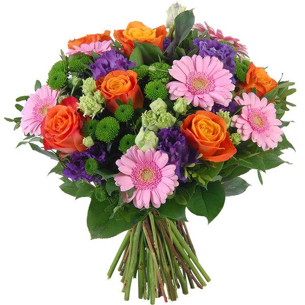 Bouquet rond ARLEQUIN