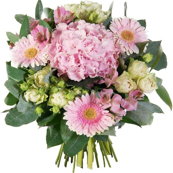 Bouquet rond PRALINE