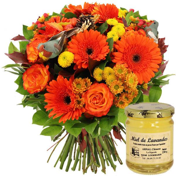 Cadeaux Gourmands CHATAIGNE + MIEL DE LAVANDE