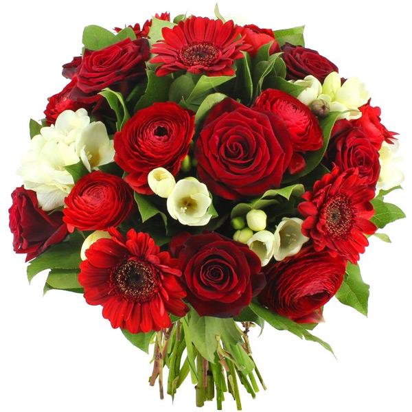Livraison Express Bouquet Fleurs Rouges Magique Florajet