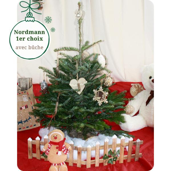 Sapin Nordmann SAPIN NORDMANN 100/125CM