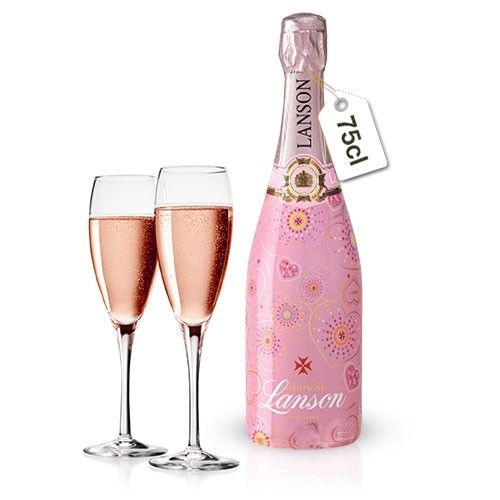 Cadeaux Gourmands BONSAI GINSENG + CHAMPAGNE LANSON ROSE 75CL