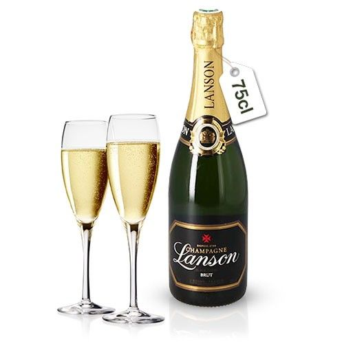Cadeaux Gourmands OLIVIER + CHAMPAGNE LANSON BRUT 75CL
