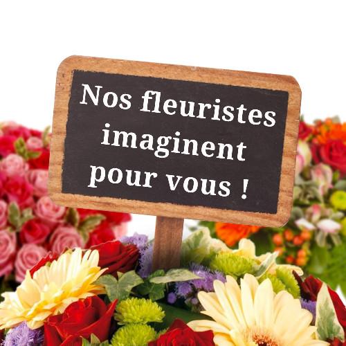 Bouquet rond CREATION DU FLEURISTE