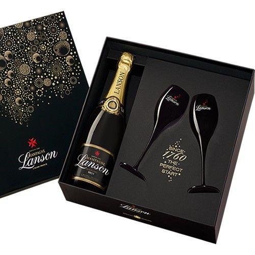 Coffrets cadeaux COFFRET LANSON NOIR 75CL