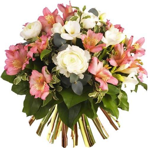 Bouquet rond PLENITUDE